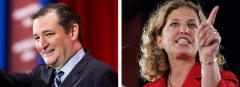 Ted Cruz and Debbie Wasserman Scultz