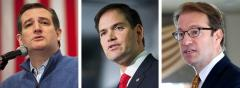 Ted Cruz, Marco Rubio and Peter Roskam