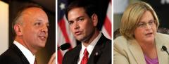 Ted Deutch, Marco Rubio, and Ilena Ros-Lehtinen