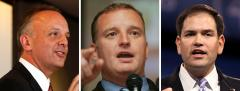 Ted Deutch, Tom Rooney and Marco Rubio