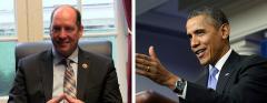 Ted Yoho and Barack Obama