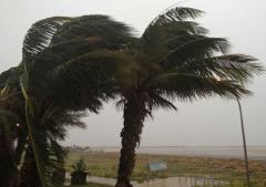 Tropical depression threatens the Bahamas