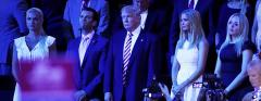 Trump family sits stonily as Ted Cruz winds up his speech