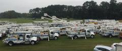 FPL trucks: All dressed up, no place to go