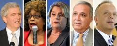 Dan Webster, Corrine Brown, Ileana Ros-Lehtinen, Jeff Miller and Ted Deutch
