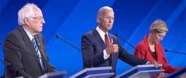 Top-tier Democrats at Thursday's debate