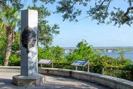 The Ribault Monument