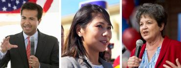 Carlos Lopez-Cantera, Stephanie Murphy and Lois Frankel